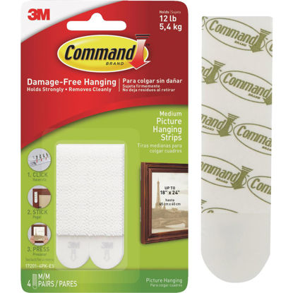 Picture of 3M Command Medium Picture Hanger Strip