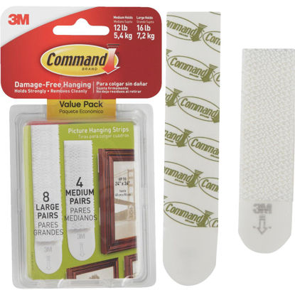 Picture of 3M Command Assorted Picture Hanging Strips Value Pack