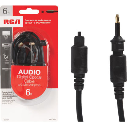 Picture of RCA 6 Ft. Audio Digital Optical Cable