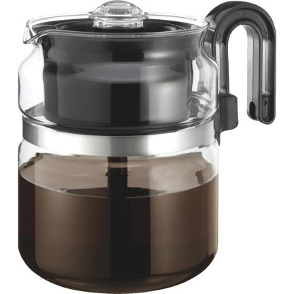 Picture of Medelco 8 Cup Glass Stovetop Coffee Percolator