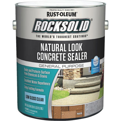 Picture of Rust-Oleum RockSolid Natural Look Concrete Sealer, 1 Gal., Clear