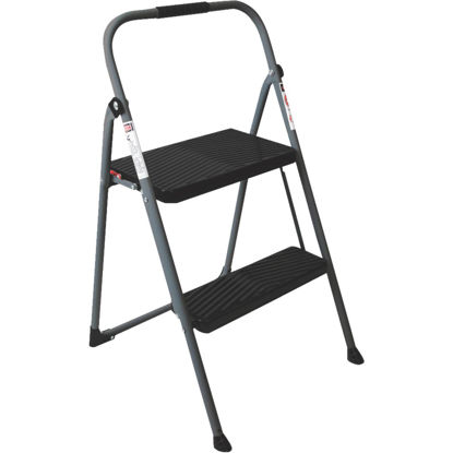 Picture of Werner 2-Step Type II Folding Step Stool