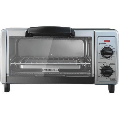 Picture of Black & Decker 4-Slice Stainless Steel Toaster Oven