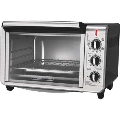 Picture of Black & Decker Dining In 6-Slice Stainless Steel Countertop Convection Oven