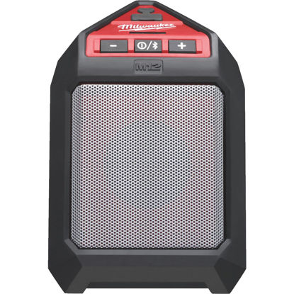 Picture of Milwaukee M12 12 Volt Lithium-Ion 30 Ft. Cordless Bluetooth Speaker (Bare Tool)