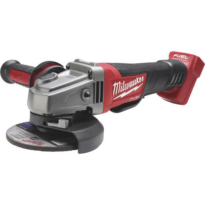 Picture of Milwaukee M18 FUEL 18 Volt Lithium-Ion Brushless 4-1/2 In. - 5 In. Cordless Angle Grinder, Paddle Switch No-Lock (Bare Tool)