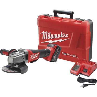 Picture of Milwaukee M18 FUEL 18-Volt Lithium-Ion Brushless 4-1/2 In. - 5 In. Angle Grinder Kit