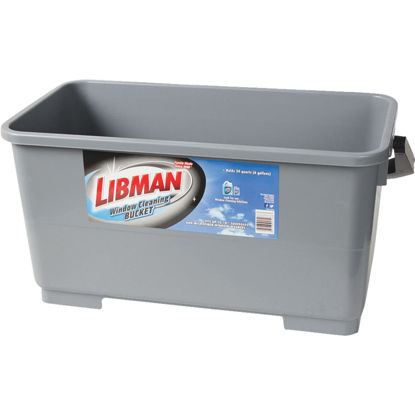 Picture of Libman 6 Gal. Gray Window Cleaning Bucket