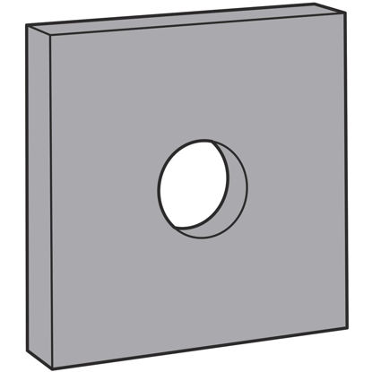 Picture of Simpson Strong Tie 7/8in. Galvanized Bearing Plate