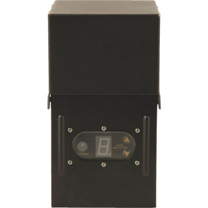 Picture of Moonrays 300W Black Low Voltage Control Box with Digital Photocell