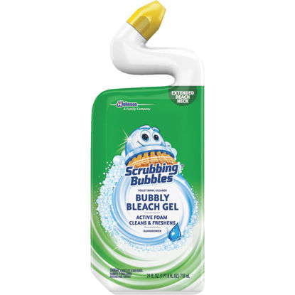 Picture of Scrubbing Bubbles 24 Oz. Rainshower Foaming Bleach Gel Toilet Bowl Cleaner
