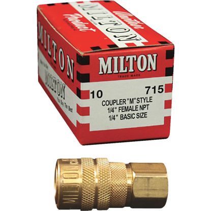 Picture of Milton Kwik Change M-Style 1/4 In. Female NPT Coupler (10-Pack)