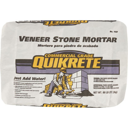 Picture of Quikrete 60 Lb. Type S Gray Mortar Mix