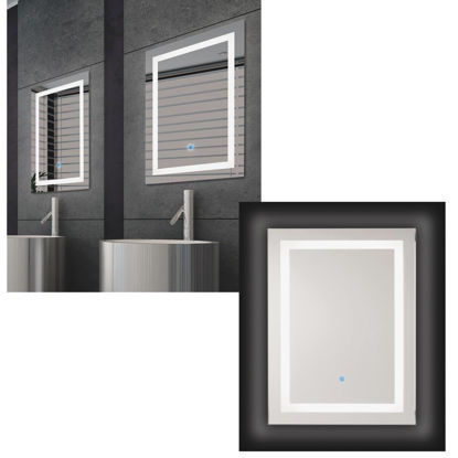 Picture of Renin Portofino 23-5/8 In. W. x 31-1/2 In. H. Polished Edge Backlit Wall Mirror