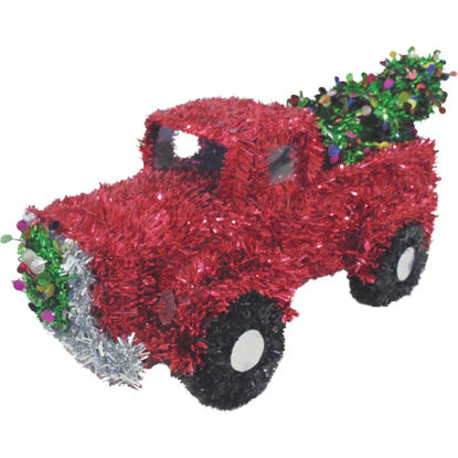 Picture of Youngcraft 13-1/2 In. Tinsel Truck Holiday Decoration