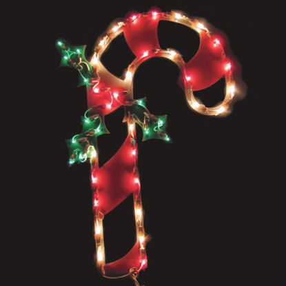 Picture of J Hofert 18 In. Incandescent Lighted Candy Cane