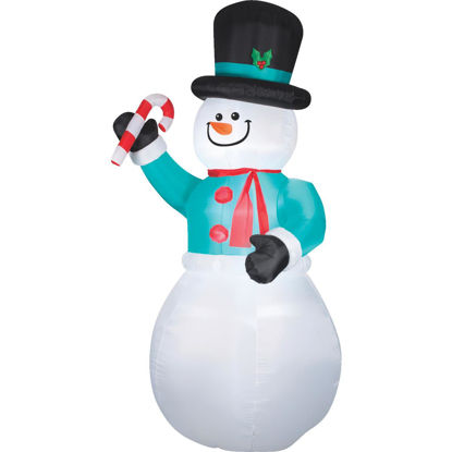 Picture of Gemmy 6 Ft. W. x 12 Ft. H. Airblown Inflatable Snowman