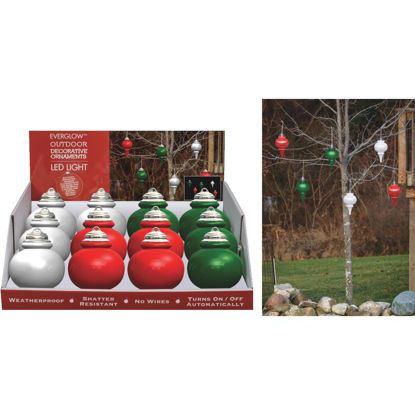 Picture of Xodus 9 In. Shatter Resistant LED Outdoor Finial Christmas Ornament