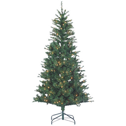 Picture of Sterling 6 Ft. Colorado Spruce 250-Bulb Clear Incandescent Prelit Artificial Christmas Tree