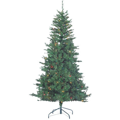 Picture of Sterling 6 Ft. Colorado Spruce 250-Bulb Multi Incandescent Prelit Artificial Christmas Tree