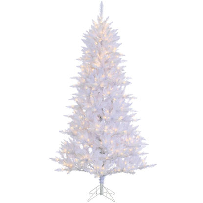 Picture of Sterling 7.5 Ft. Atlantic Cedar 550-Bulb Clear Incandescent Prelit Artificial Christmas Tree