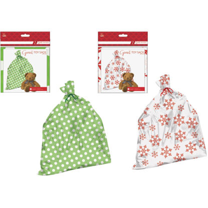 Picture of Paper Images Giant Plastic Gift Sack