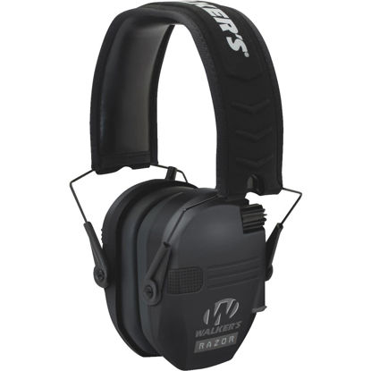 Picture of Walker's Razor Series Black Electronic Earmuffs