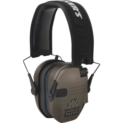 Picture of Walker's Razor Series Dark Earth Electronic Earmuffs