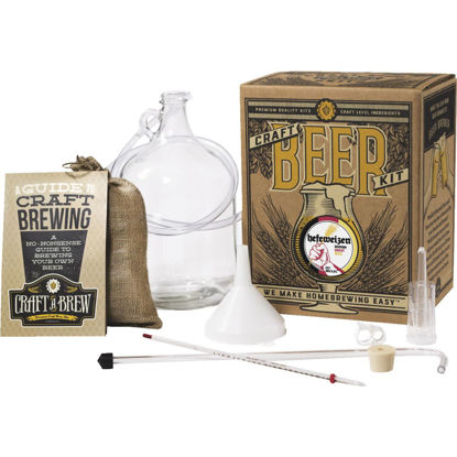 Picture of Craft A Brew Hefeweizen Beer Brewing Kit (11-Piece)