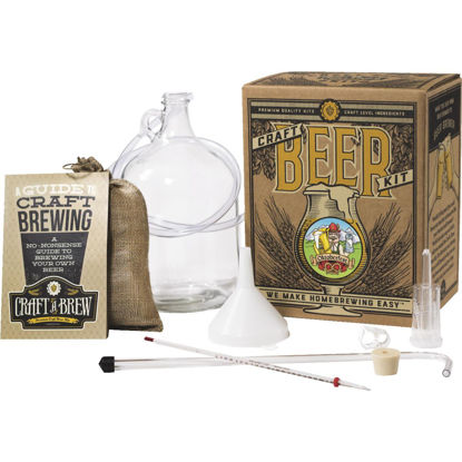 Picture of Craft A Brew Oktoberfest Ale Beer Brewing Kit (11-Piece)