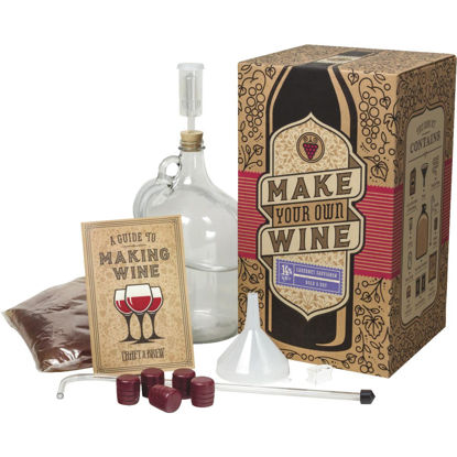 Picture of Craft A Brew Cabernet Sauvignon Wine Making Kit (11-Piece)