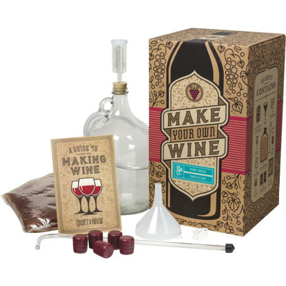 Picture of Craft A Brew Pinot Grigio Wine Making Kit (11-Piece)