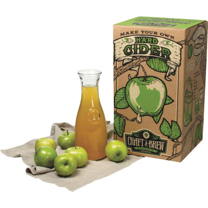 Picture of Craft A Brew Hard Cider Brewing Kit (10-Piece)