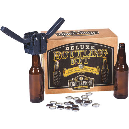 Picture of Craft A Brew Deluxe Beer Bottling Kit (10-Piece)