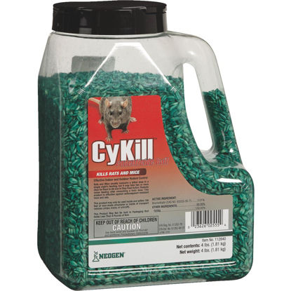 Picture of CyKill Seed Meal Bait Rat And Mouse Poison, 4 Lb.