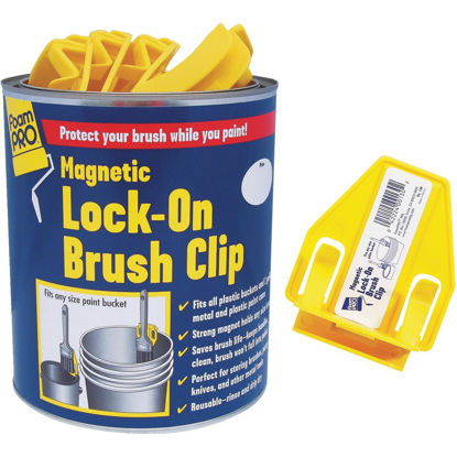 Picture of FoamPro Magnetic Lock-On Brush Clip