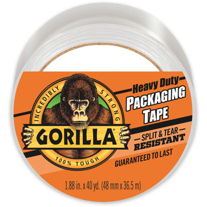 Picture of Gorilla 1.88 In. W. x 40 Yd. L. Clear Heavy-Duty Packaging Tape Refill
