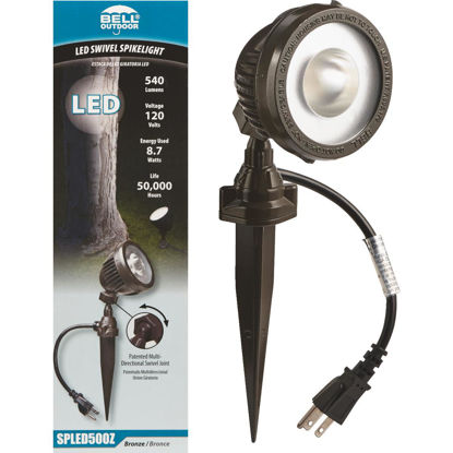 Picture of Bell LED Bronze Landscape Stake Light