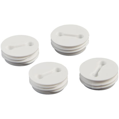 Picture of Bell 1/2 In. Weatherproof White Closure Plug (4-Pack)