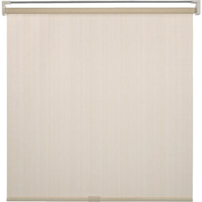 Picture of Home Impressions 72 In. x 72 In. Ivory Fabric Indoor/Outdoor Cordless Roller Shade