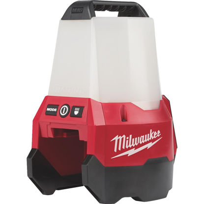 Picture of Milwaukee M18 RADIUS 18 Volt Lithium-Ion LED Cordless Work Light with Flood Mode (Bare Tool)