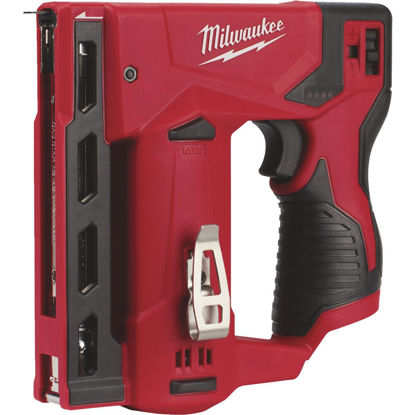 Picture of Milwaukee M12 12 Volt Lithium-Ion 3/8 In. Crown Cordless Finish Stapler (Bare Tool)