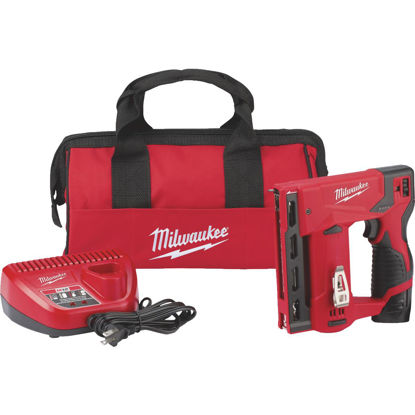Picture of Milwaukee M12 12-Volt Lithium-Ion 3/8 In. Crown Cordless Finish Stapler Kit