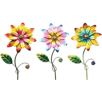 Picture of Alpine 15 In. Metal Daisy Garden Stake Lawn Ornament