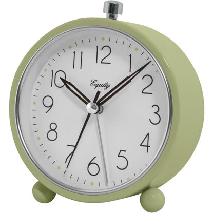 Picture of La Crosse Technology Equity Analog Quartz Battery Operated Alarm Clock