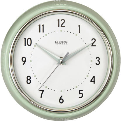 Picture of La Crosse Clock Diner Analog Wall Clock