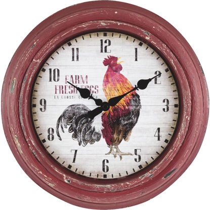 Picture of La Crosse Clock Rooster Wall Clock