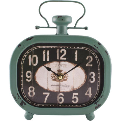 Picture of La Crosse Clock Analog Metal Battery Operated Clock