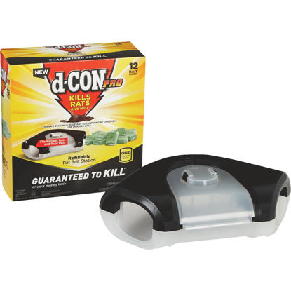 Picture of D-Con Refillable Rat Bait Station (12-Refill)