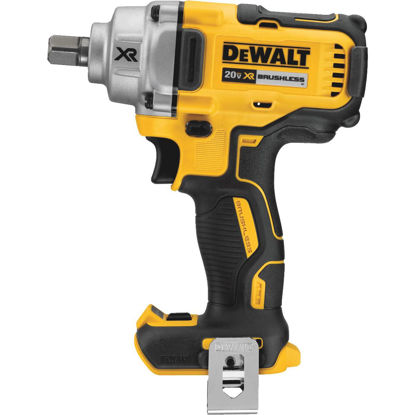 Picture of DeWalt 20 Volt MAX XR Lithium-Ion Brushless 1/2 In. Mid-Range Cordless Impact Wrench (Bare Tool)